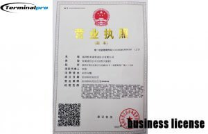 Foreign trade registration form-YANGZHOU TERMINALPRO IMP.&EXP. CO., LTD