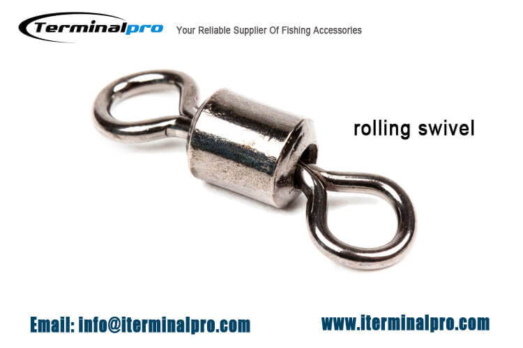 rolling swivel| terminal tackle | fishing accessorries | fishing connector