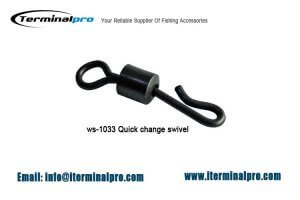 Matt black quick change swivel