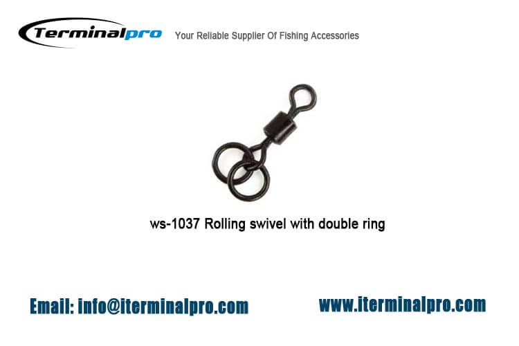 matt-black-rolling-swivel-with-double-ring
