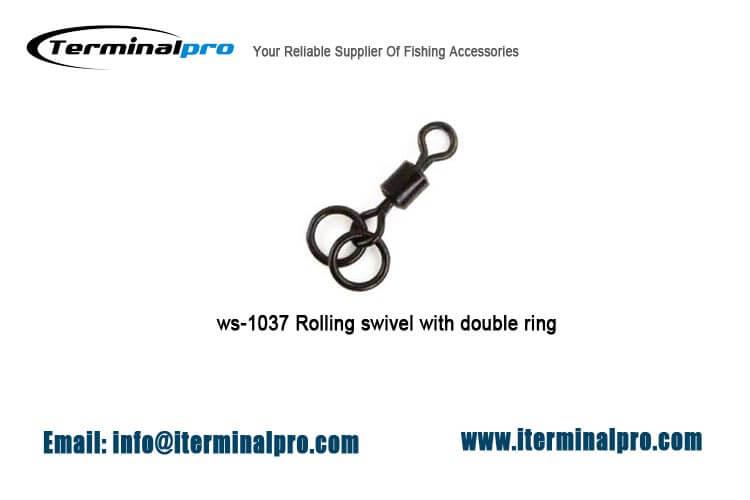matt-black-rolling-swivel-with-double-ring