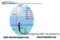 Assist hook AH204-single-hook-10827-with-dyneema-line