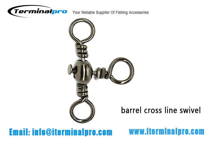 Barrel-Cross-Line-Swivel-Fishing-Connection-Accessory-Terminal-Tackle