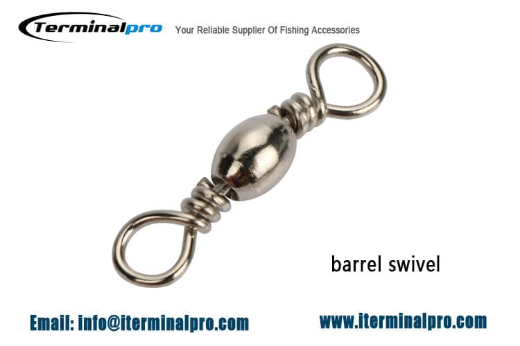 Black-nickel-Barrel-Swivel-Fishing-Connection-Accessories-Terminal-Tackle-Terminalpro