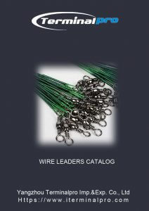 Download Fishing Wire Leader Catalog-TERMINALPRO