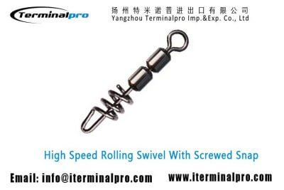 High-Speed-Rolling-Swivel-With-Screwed-Snap-Fishing-Swivels-Fishing-Snap-Fishing-Accessories-Terminal-Tackle