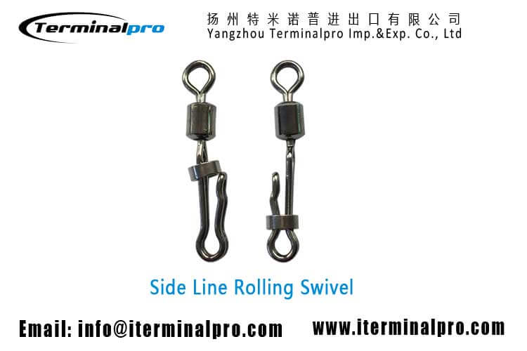 Side-line-rolling-swivel-fishing-swivel-fishing-snap-fishing-accessorie-terminal-tackle