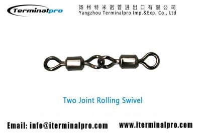 Two-joint-rolling-swivels-Terminal-Tackle-Fishing-Accessories-Connector