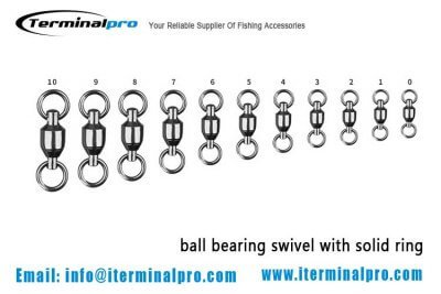 ball-bearing-swivel-with-welded-ring-terminal-tackle-fishing-accessory