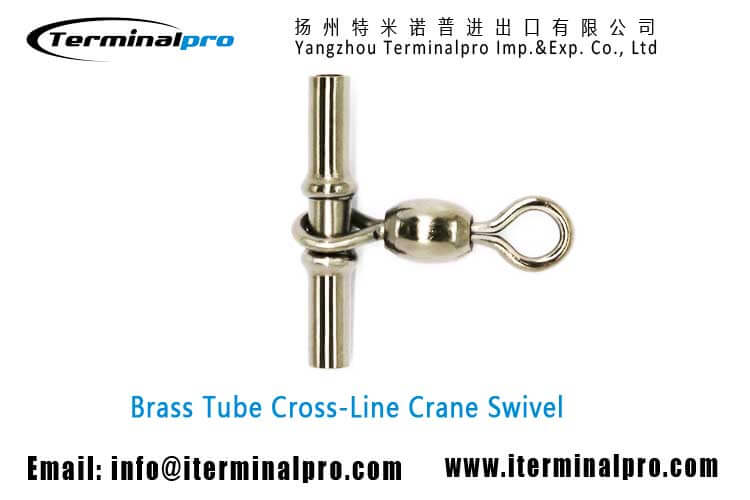 brass-tube-Cross-line-Crane-Swivel-fishing-swivel-fishing-snap-fishing-accessories-terminal-tackle