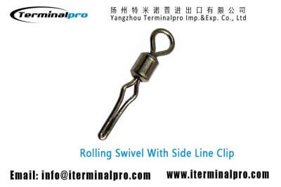 rolling-swivel-with-side-line-clip-fishing-swivel-fishing-snap-fishing-accessories-terminal-tackle