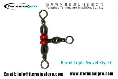 Barrel-Swivel-Triple-Swivels-Style-C-Fishing-Swivel-Snap-terminal-tackle-TERMINALPRO