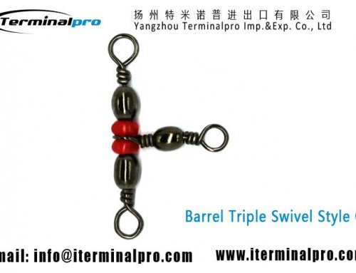 Barrel Swivel Triple Swivels Style C