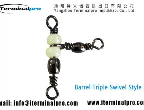 Barrel Swivel Triple Swivels Style B