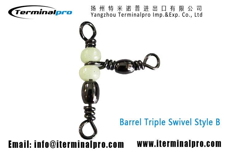 Barrel-Swivel-Triple-Swivels-Style-b-Fishing-Swivel-Snap-terminal-tackle-TERMINALPRO