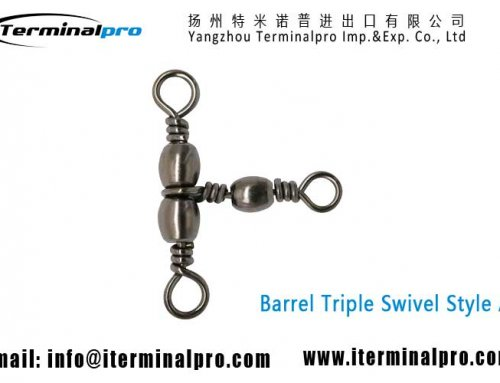Barrel Swivel Triple Swivels Style A