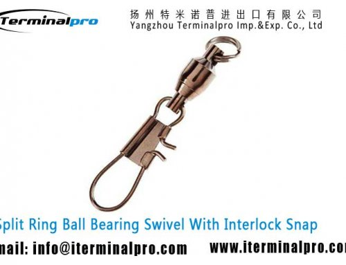 Ball Bearing Swivel With Interlock Snap