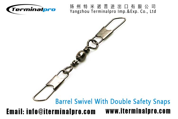 supplying-barrel-swivel-with-double-safety-snaps-fishing-swivel-snap-connection-accessory-terminal-tackle-TERMINALPRO