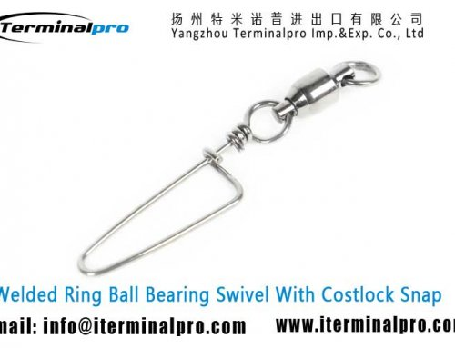 Ball Bearing Swivel With Costlock Snap