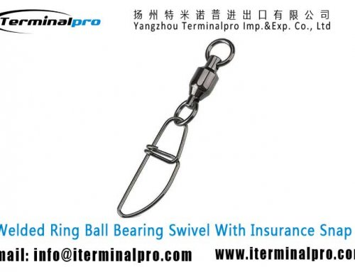 Ball Bearing Swivel With Insurance Snap