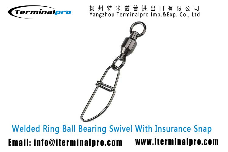 welded-ring-ball-bearing-swivel-with-insurance-snap-fishing-swivel-snap-fishing-accessory-terminal-tackle-TERMINALPRO
