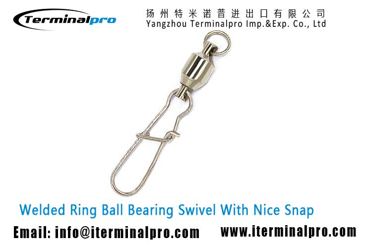 welded-ring-ball-bearing-swivel-with-nice-snap-fishing-swivel-snap-fishing-accessory-terminal-tackle-TERMINALPRO