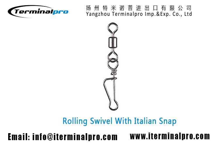 wholesale-rolling-swivel-with-italian-snap-fishing-swivel-snap-connection-accessory-terminal-tackle