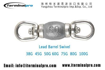 commercial-longline-fishing-lead-barrel-swivel-38G-45G-50g-60G-75G-80G-100G-TERMINALPRO