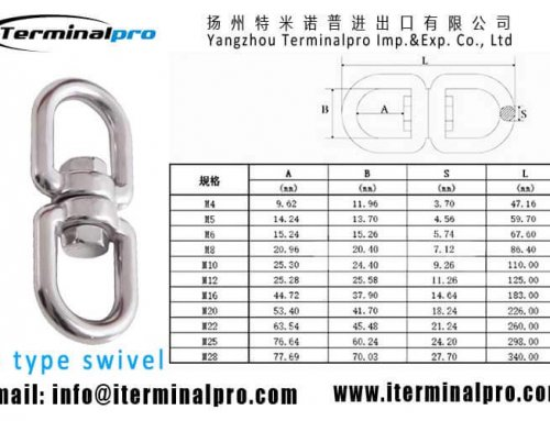 8 Type Swivel