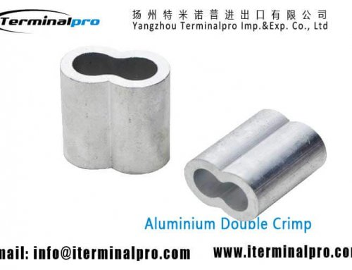 Aluminium Double Crimp Sleeve