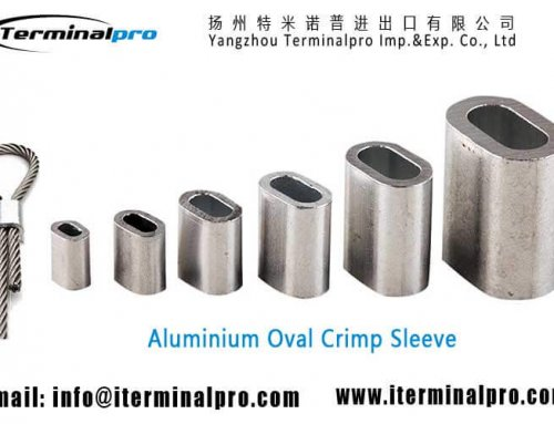 Aluminium Oval Crimp Sleeve