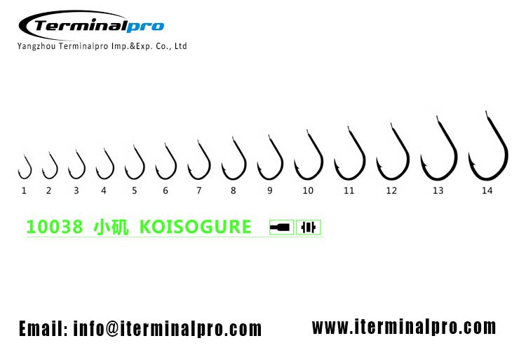 10038-KOISOGURE-high-carbon-steel-freshwater-fishing-hook