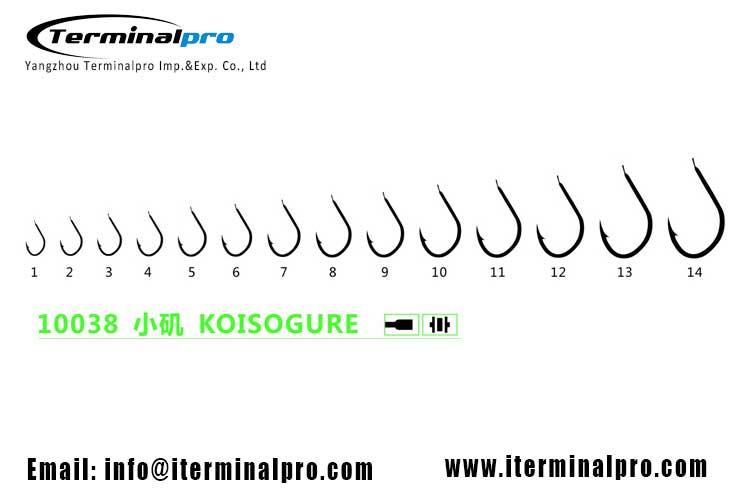 10038-KOISOGURE-high-carbon-steel-freshwater-fishing-hook