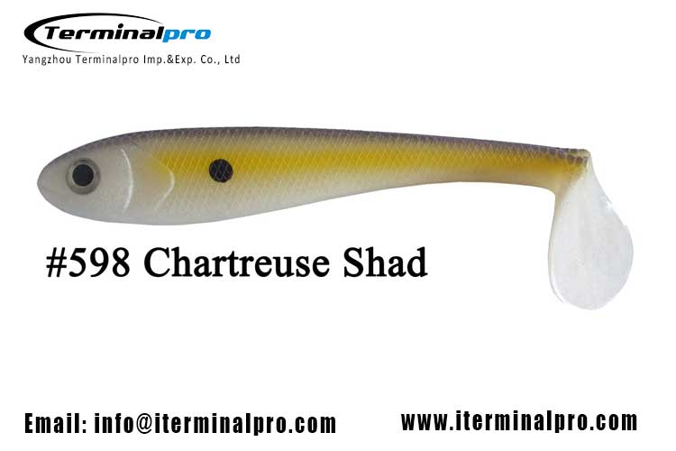 3.5-4.5-5.5-6.5-inch-chartreuse-shad-hollow-swimbait-soft-plastic-baits