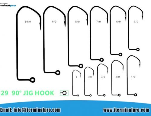 8229-90 Degrees Jig Hook