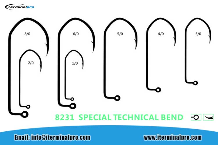 8231-SPECIAL-BEND-JIG-HOOK-FOR-BASS-FISHING-RIG-AND-JIG-HEADS-FISHING-HOOK-TERMINAL-TACKLE-FISHING-ACCESSORIES