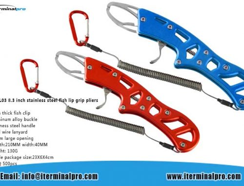 TFGP-YL03 8.3 inch stainless steel fish lip grip pliers