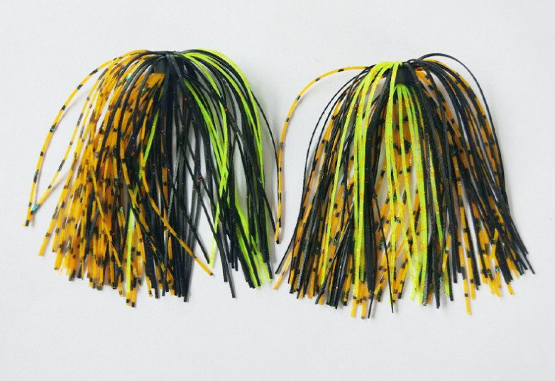 wholesale-silicone-skirts for spinnerbaits-and-jig-head-soft-frog-6